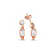 Baguette Zirconium Trendy Earring Wholesale Fashionable 925 Sterling Silver  Turkish Jewelry