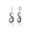 925 Sterling Silver Dragon Ejder Earring Wholesale Turkish Jewelry