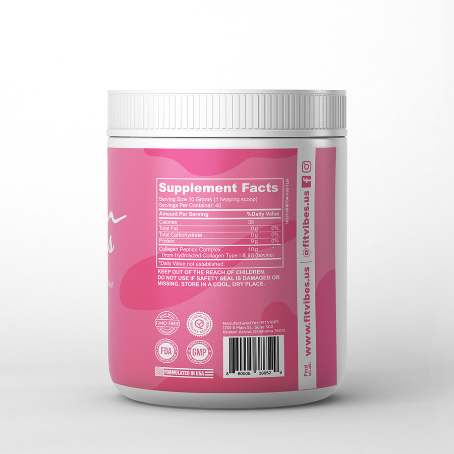 Hydrolized Collagen - Fitvibes