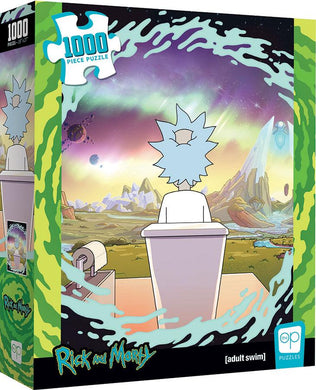 Rick & Morty Shy Pooper 1000pcs Puzzle - Lulu Games