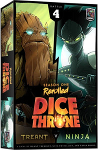 Dice Throne Season One ReRolled: Treant v Ninja