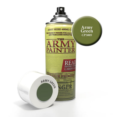 The Army Painter: Colour Primer - Army Green - Lulu Games