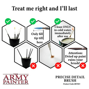 The Army Painter: Hobby Paintbrush - Precise Detail - Lulu Games