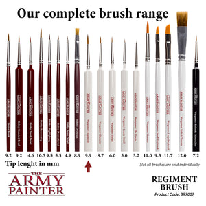 The Army Painter Brushes: Wargamer Paintbrush - Regiment