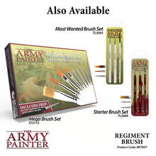Load image into Gallery viewer, The Army Painter Brushes: Wargamer Paintbrush - Regiment