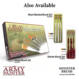 The Army Painter: Wargamer Paintbrush - Monster - Lulu Games