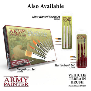 The Army Painter: Wargamer Paintbrush - Vehicle/Terrain - Lulu Games