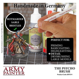 The Army Painter: Wargamer Paintbrush - The Psycho - Lulu Games