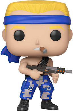 Funko Pop! Contra: Bill Rizer - Lulu Games