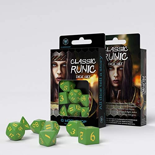 Q Workshop: Classic Runic: Green & Yellow