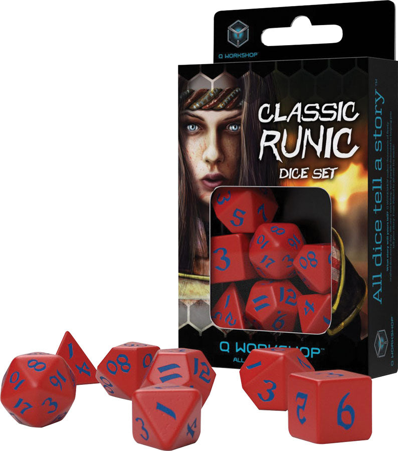 Q Workshop: Classic Runic: Red & Blue