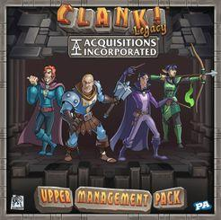 Clank! Legacy: Acquisitions Incorporated: Upper Management Pack - Lulu Games