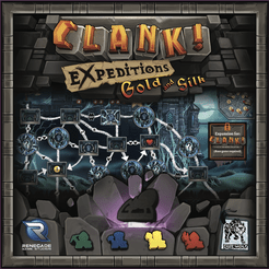 Clank! Expeditions: Gold and Silk - Lulu Games