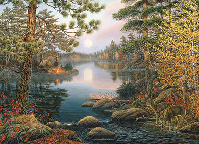 Deer Lake 1000pcs Puzzle - Lulu Games