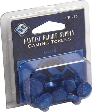 Fantasy Flight Supply: Gaming Tokens - Blue - Lulu Games