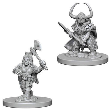 Female Dwarf Barbarian - Lulu Games