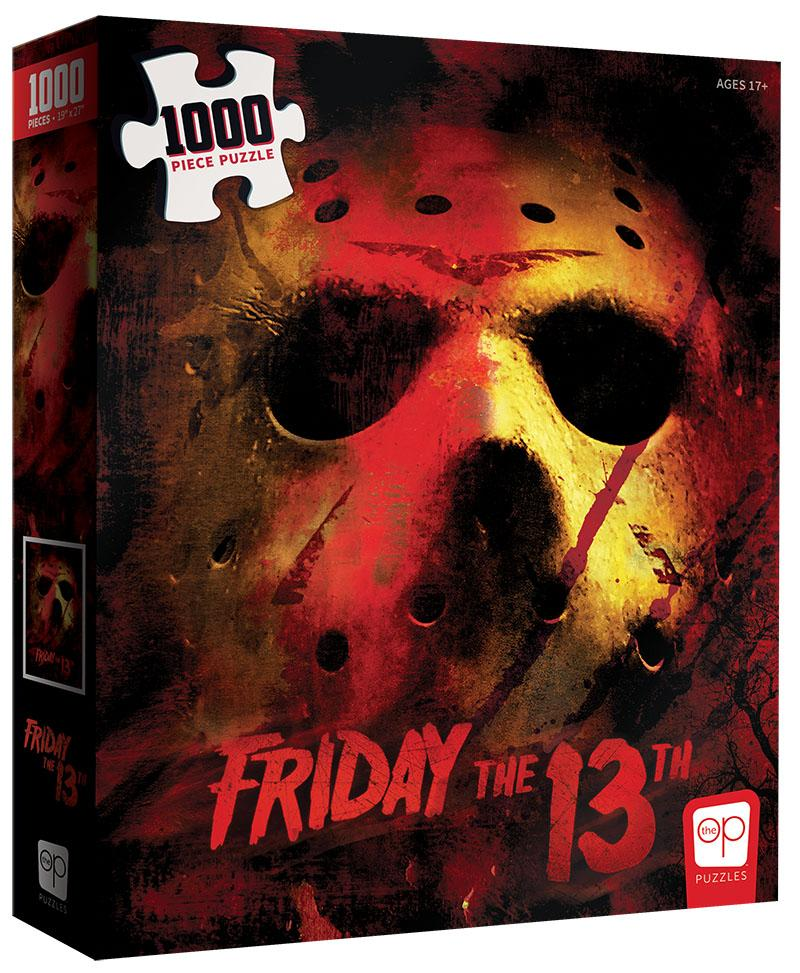 Friday the 13th 1000pcs Puzzle - Lulu Games