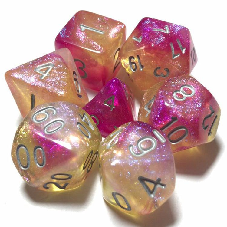 Dice By Lulu - Nebula Dice: Hourglass Nebula - Lulu Games