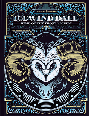 **Pre-Order** D&D 5th Edition: Icewind Dale Rime of the Frostmaiden (Alternative Cover Art) - Lulu Games