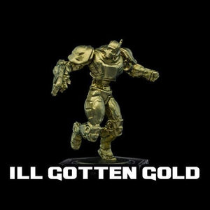 Turbo Dork Metallic Acrylic Paint - Ill Gotten Gold - Lulu Games