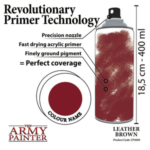 The Army Painter: Colour Primer - Leather Brown