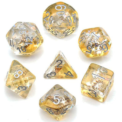 Dice By Lulu - Shell Dice: Liquid Sun - Lulu Games