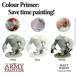 The Army Painter: Colour Primer - Matt White