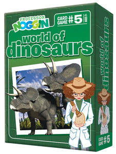 Professor Noggin: World of Dinosaurs