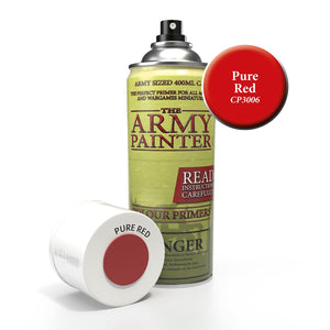 The Army Painter: Colour Primer - Pure Red - Lulu Games