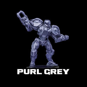 Turbo Dork Metallic Acrylic Paint - Purl Grey - Lulu Games