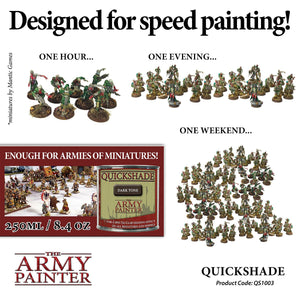 The Army Painter: Quickshade - Dark Tone - Lulu Games