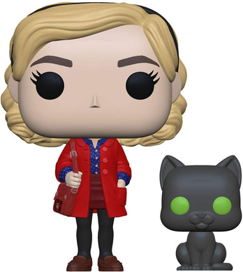 Funko Pop! Chilling Adventures of Sabrina: Sabrina Spellman and Salem - Lulu Games