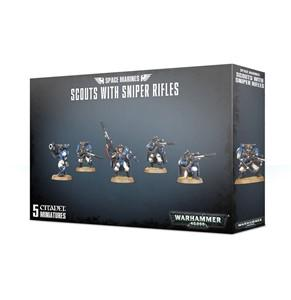 Warhammer 40,000: Space Marines - Scouts with Sniper Rifles - Lulu Games