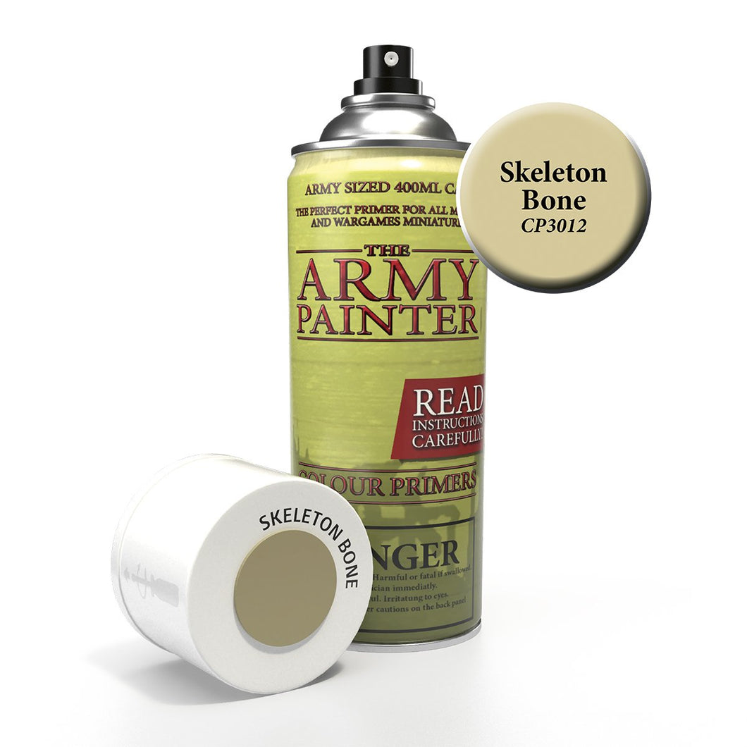 The Army Painter: Colour Primer - Skeleton Bone - Lulu Games