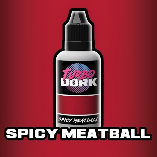 Turbo Dork Metallic Acrylic Paint - Spicy Meatball - Lulu Games