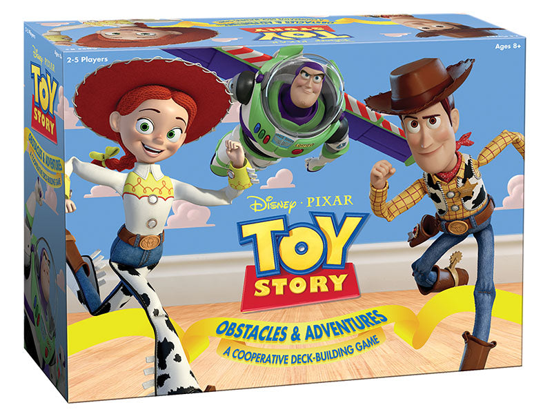 Toy Story: A Cooperative Deck-Building Game