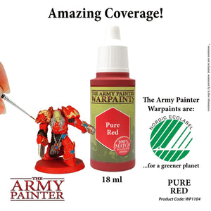 The Army Painter: Warpaint - Pure Red - Lulu Games