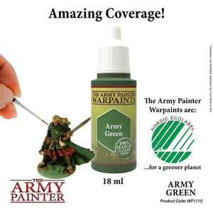 The Army Painter: Warpaint - Army Green - Lulu Games