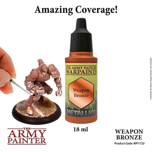 The Army Painter: Warpaint Metallics - Weapon Bronze - Lulu Games