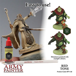 The Army Painter: Warpaint Washes - Red Tone - Lulu Games