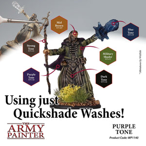 The Army Painter: Warpaint Washes - Purple Tone - Lulu Games