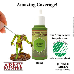 The Army Painter: Warpaint - Jungle Green - Lulu Games