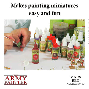The Army Painter: Warpaint - Mars Red - Lulu Games