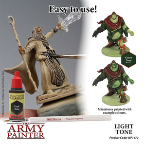 The Army Painter: Warpaint Washes - Light Tone - Lulu Games