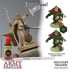 The Army Painter: Quickshade Washes - Military Shader - Lulu Games