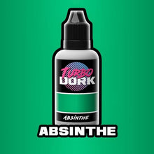 Load image into Gallery viewer, Turbo Dork Metallic Acrylic Paint - Absinthe - Lulu Games