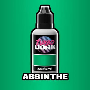 Turbo Dork Metallic Acrylic Paint - Absinthe - Lulu Games
