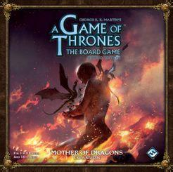 A Game of Thrones Board Game 2nd Edition - Mother of Dragons Expansion - Lulu Games