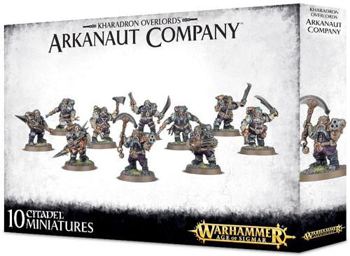 Warhammer Age of Sigmar: Kharadron Overlords - Arkanaut Company - Lulu Games