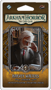 Arkham Horror: The Card Game - Investigator Starter Deck: Harvey Walters, Seeker - Lulu Games